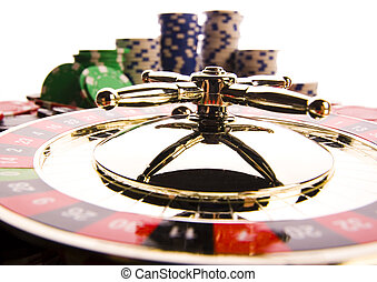 Roulette & Chips - Casino - a place where you can win or...