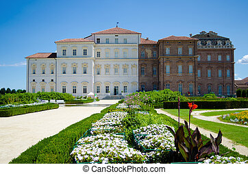 Reggia di Venaria, Italy - Palace and gardens of Reggia di...