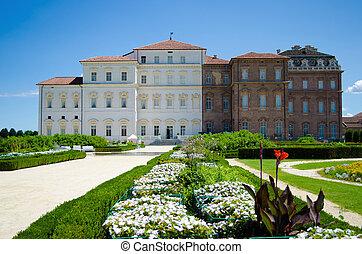 Reggia di Venaria, Italy - Palace and gardens of Reggia di...