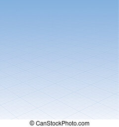 blue background with grid