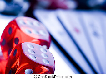 Pair of dice - Casino - a place where you can win or lose...