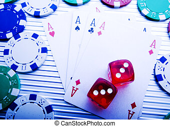 In the casino - Casino - a place where you can win or lose...