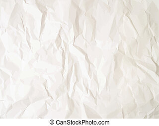 Crumpled paper - Background with a crumpled paper effect