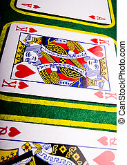 Playing cards - Casino - a place where you can win or lose...