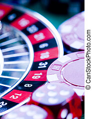 Roulette - Casino - a place where you can win or lose money....