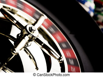 Roulette - Casino - a place where you can win or lose money...