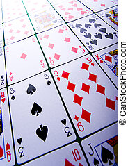 Cards - Casino - a place where you can win or lose money....