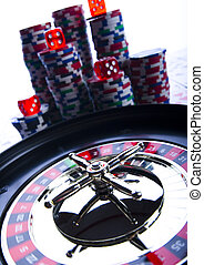Casino - Roulette & Chips - Casino - a place where you can...