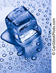 Ice can refer any of the 14 known solid phases of water...