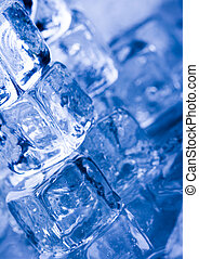 Ice cubes - Ice can refer any of the 14 known solid phases...