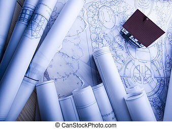 Plans - Architecture is the art and science of designing...