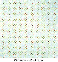 Polka Dots pattern in bright colors EPS 8 - Polka Dots...
