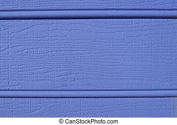 Blue weatherboard texture - Details on painted rough wooden...