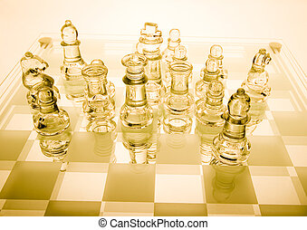 Chess - a game for two people that is played on a board with...