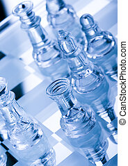 Building a strategy - Chess - a game for two people that is...