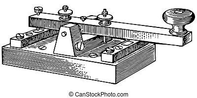 Morse key - Old Morse key