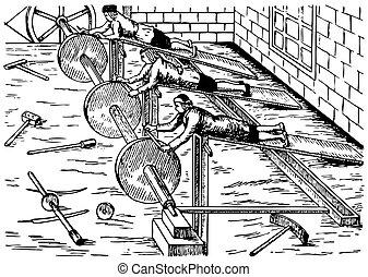 Vintage machine tools