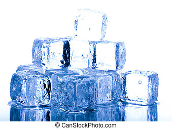 Cold background - Ice can refer any of the 14 known solid...