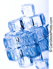 hielo, cubos