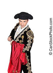 Man dressed as a matador