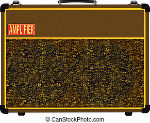 Valve Amplifier. - A guitar valve amplifier.