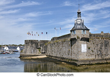 Belfry of Ville Close of Concarneau - Belfry of the Ville...