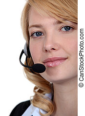 call center employee e