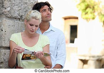 pareja, turismo