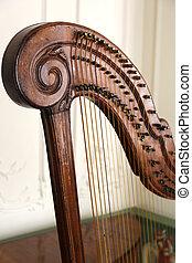 pedal, antigas, harpa