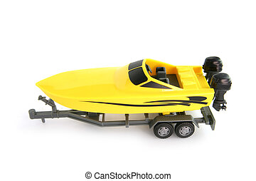 Toy speedboat