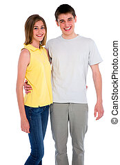 couple of teenagers