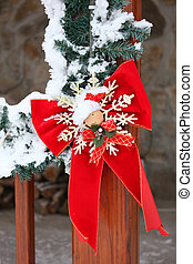 Christmassy cabin