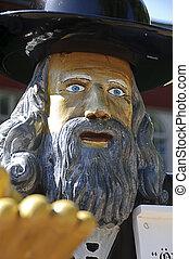 Swedish folklore - Statue of Rosenbom - Rosenbom is the...
