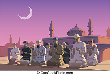 Ramadan - This is an illustraion of Ramadan holiday