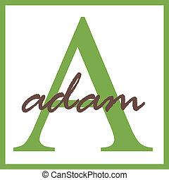 Adam Monogram