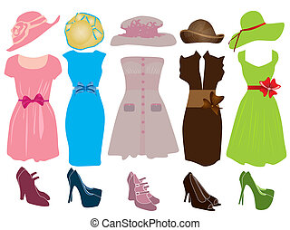 Retro clothes for woman