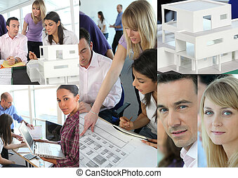Images of architects working