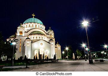 Belgrade at night - View at Belgrade nights
