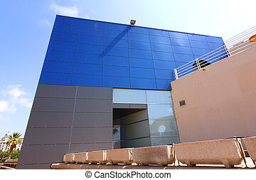 modern architecture in a building