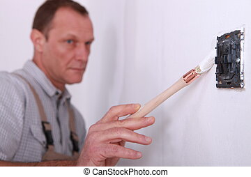Careful Painter