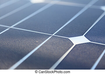 Photovoltaic panels - solar energy concept
