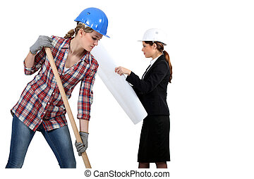 women in public and civil engineering sector