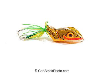 Artificial bait fishing
