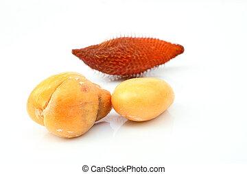 Close up of Zalacca or Salak fruit - Zalacca or salak fruit,...