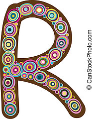"Beautiful letter ""R"""
