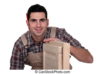 portrait of cabinetmaker