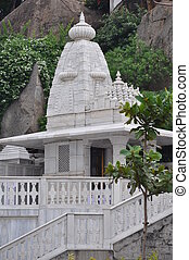 Birla Mandir (Hindu Temple) in Hyderabad, Andhra Pradesh in...