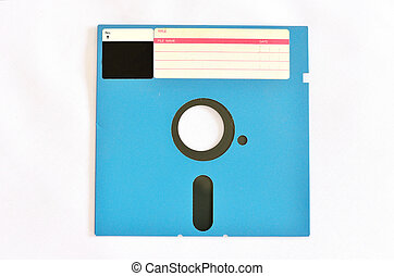 Old diskette 5 25 inches with label