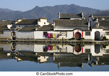 Hongcun VI - The ancient Chinese village of Hongcun