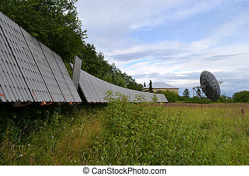 Radio telescope at Pulkovo observatory
